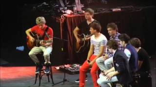 One Direction Up All Night Tour Memories 2 Singing covers