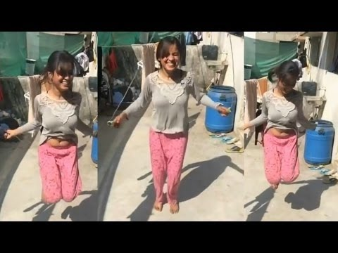 Viral  Indian girl hot step