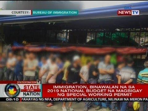 Xxx Mp4 Sen Villanueva Maluwag Ang BI Sa Pagbibigay Ng Special Working Permit Sa Mga Dayuhan 3gp Sex