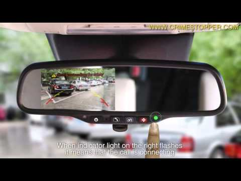 SafetyPlus™ SV-9162 Rear View Mirror Monitor with OnStar™
