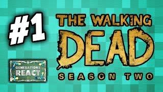 THE WALKING DEAD (Telltale): SEASON 2 - Part 1 (React: Twitch Let