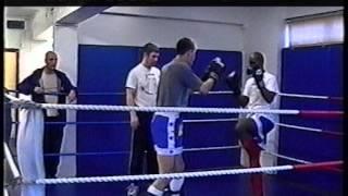 Lee Coleman vs James Morris - INTERCLUB SPARRING