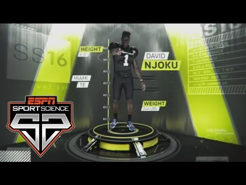 Former Miami TE David Njoku | Sport Science