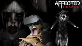 I THINK I'M DONE WITH VR HORROR GAMES | Affected: The Manor Oculus Rift REACTION