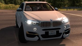 American Truck Simulator - BMW X6M 2015 | Mods Free Roam Gameplay (PC HD) [108060FPS]