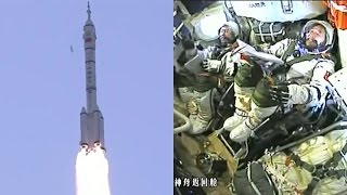 Long March 2F launches Shenzhou-11 (神舟十一号)
