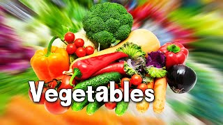 Learn Types of Vegetables | Animated Video For Kids | English Animation Video For Children