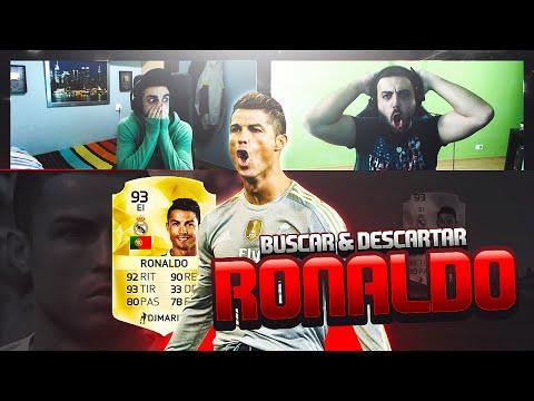 RONALDO DISCARD CHALLENGE | Buscar y Descartar | FIFA 16 | DjMaRiiO vs DoctorePoLLo