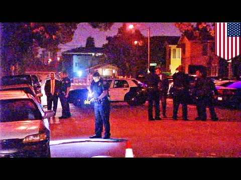 Stabbing spree suspect shot dead by Long Beach police, six wounded, some critically - TomoNews