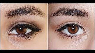 Büyük Gözü Küçültme, Küçük Gözü Büyütme Makyajı | Şebnem Öz