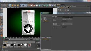 Cinema 4D Tutorial - MP3 Player - Part 6 Final