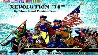 Revolution 76 gameplay (PC Game, 1989)