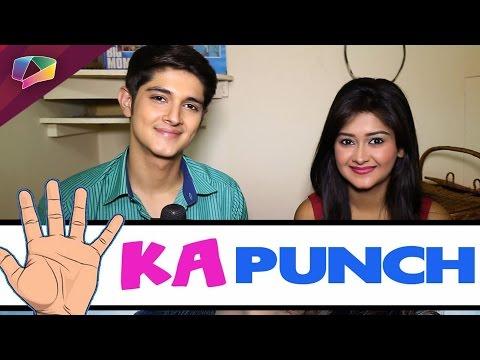 Rohan Mehra & Kanchi Singh of Yeh Rishta Kya Kehlata Hai, take 5 ka punch challenge