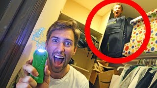 HIDE AND SEEK WITH ELECTRIC GUN! (if found, shocked) FUNK BROS HOUSE
