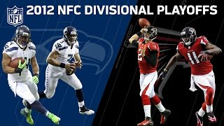 Falcons Survive Wild Seahawks Comeback |  2012 NFC Divisional Round (FULL GAME) | NFL