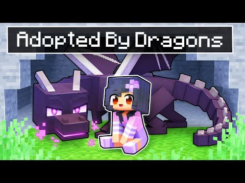 Adopted By DRAGONS In Minecraft