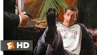 Mr. Deeds (3/8) Movie CLIP - Whacking the Foot (2002) HD
