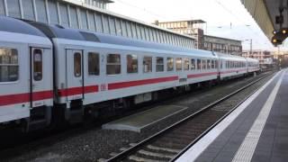 101 102-2 (Ex Vedes-Werbelok) mit IC in Münster Hbf