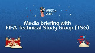Media briefing with FIFA