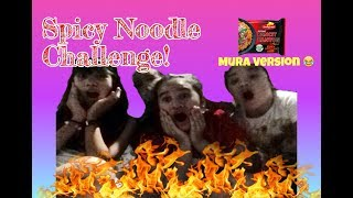 SPICY NOODLE CHALLENGE! (MURA Version 😂)