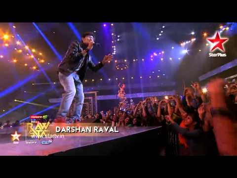 India's Raw Star: Darshan Raval puts up a Rockstar act!