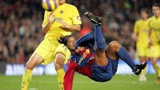 Ronaldinho's overhead kick against Villarreal (2006/07)