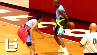 Jamal Crawford Fake Behind The Back Crossover Move On Defender! NASTY!