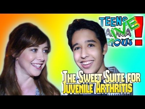 Teens Wanna Know - The Sweet Suite Benefit for Juvenile Arthritis Red Carpet Interviews