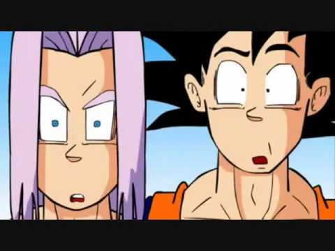 Goku y Trunks le venden chocolates a Broly