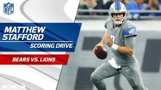 Stafford & Co. Extend the Lead on Scoring Drive vs. Chicago! | Bears vs. Lions | NFL Wk 15
