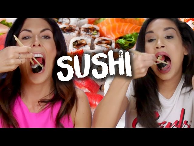 7 Crazy SUSHI ROLLS! (Cheat Day)