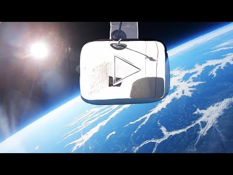 I Sent My YouTube Play Button Into Space