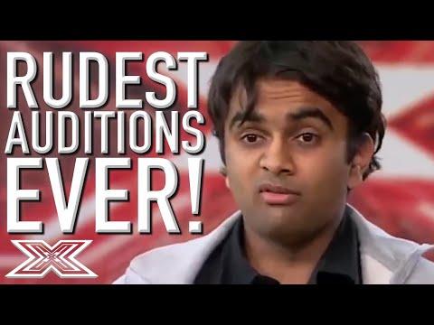 Xxx Mp4 Rudest Auditions EVER On X Factor Global 3gp Sex