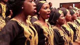 Lagos City Chorale performing