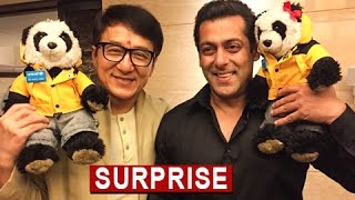 Salman Khan AMAZING Surprise For Jackie Chan | Jackie Chan In India | Kung Fu Yoga
