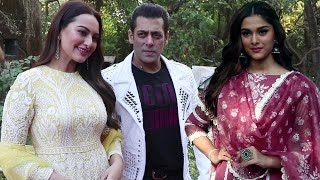 Salman Khan Promotes Dabangg 3 With Sonakshi Sinha & Saiee Manjrekar On the Sets Of Chhoti Sardarni