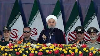 Iran blames Gulf states for military parade attack