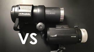 Impact Venture TTL 600 Vs Profoto B1 - The Better Option
