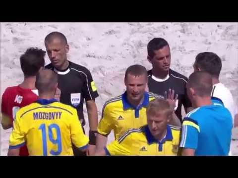 Пляжный футбол. Кубок Европы 2016. Украина 6:5 Швейцария