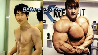 Chul Soon Transformation from Skinny to Monster ! 2017 Motivation