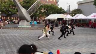 [EXO-K MAMA]k-pop dance cover contest by EXO-Y 2013/7/27【米子がいな祭】