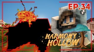 WHAT HAPPENED TO MY HOUSE?! - Harmony Hollow Modded SMP Season 2 - Ep.34