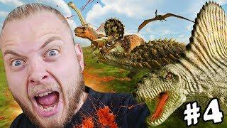SQUIDDY VS DINOSAURS!! - Beast Battle Simulator #4 'FINAL EPISODE'