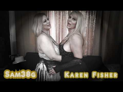 How to hug when busty with Samantha38g & Karen Fisher