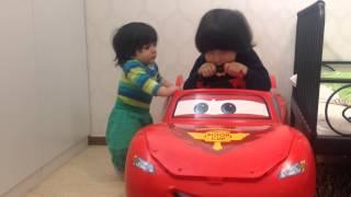 سيارات اطفال كبيرة كارز , اطفال يلعبون cars 2 MCQueen