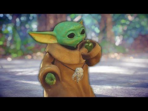 Star Wars Battlefront 2 Funny Moments 59 Grogu