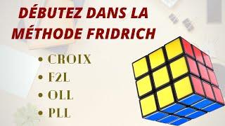 Rubik's cube : Méthode intermédiaire (fridrich simplifiée)