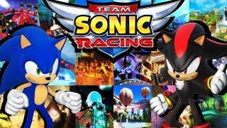 Team Sonic Racing - All Tracks (Full Race Gameplay)