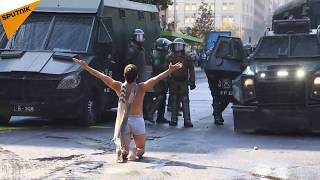 Chile: Violent Clashes Erupt as Students March Against
