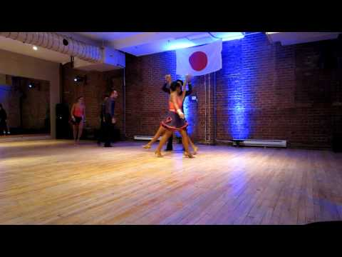 Comomango Amateur Troupe at the Salsa for Japan fund raising at Comomango on May 7th 2011